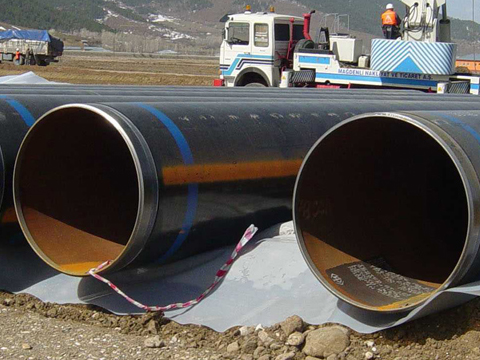 ASTM A252 Grade 3 Welded steel pipe piles