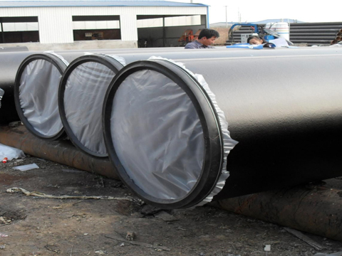 ASTM A671 CB65 LSAW steel pipeline