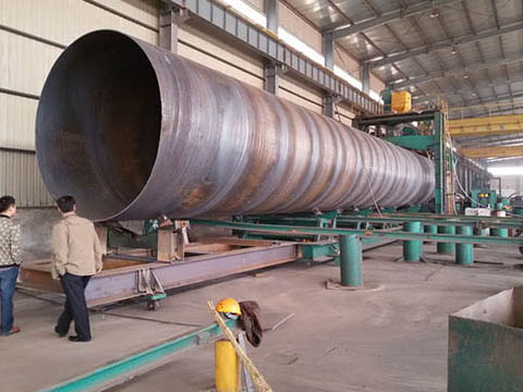 ASTM A672 B65 LSAW pipeline